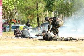 Sat Brimob Lumpuhkan Sejumlah Teroris DiBatam